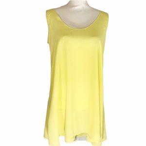 NWOT Zinke 100% Silk Sleeveless Tunic